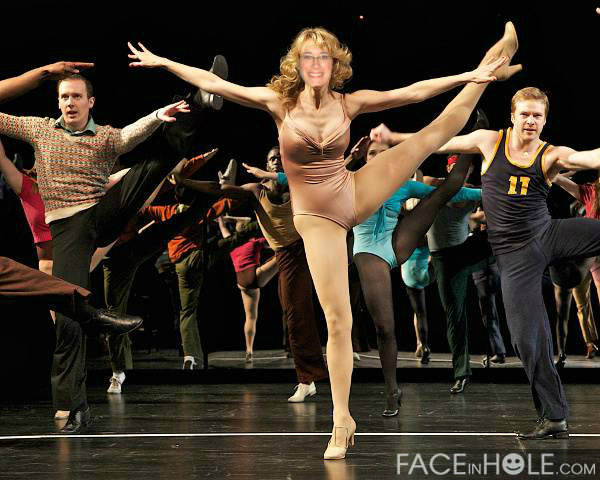 Mary in A CHORUS LINE