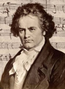 Ludwig van Beethoven. Click here for image source.